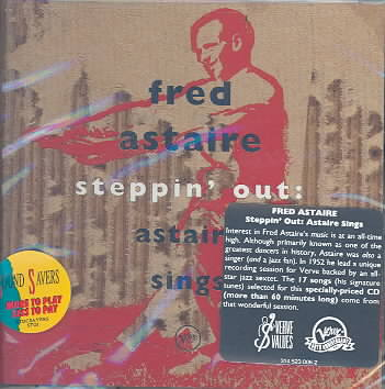 STEPPIN OUT:ASTAIRE SINGS BY ASTAIRE,FRED (CD)